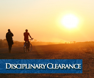 Disciplinary Clearance