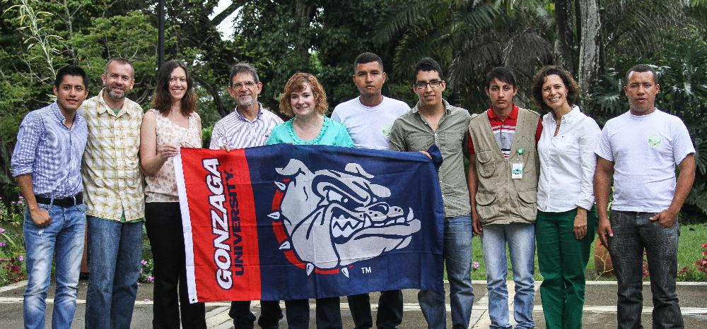 Student Group in Colombia